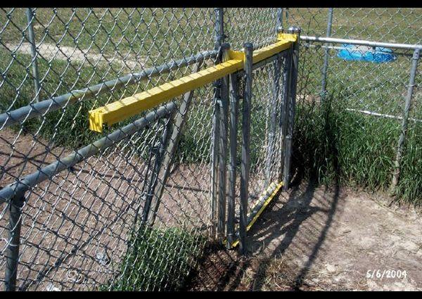 ZF Easy Slide using chain link door - 2004