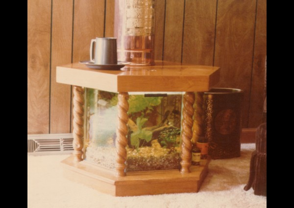 Custom built fish tank - 1979