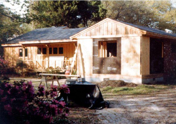 Renovation of Johns Island home - 1983