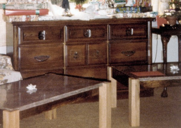 End tables Christmas gift 1979